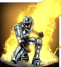Terminator & RoboCop-Kill Human #2-Here I Am!