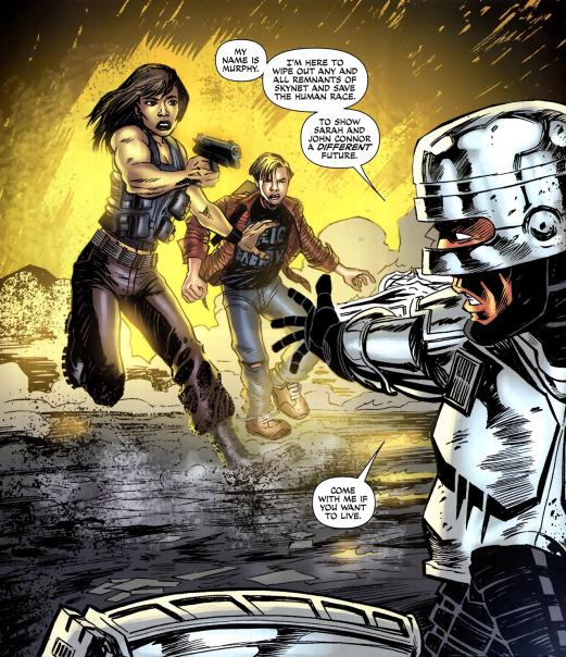 Terminator & RoboCop-Kill Human #2-We Need To Team-Up!