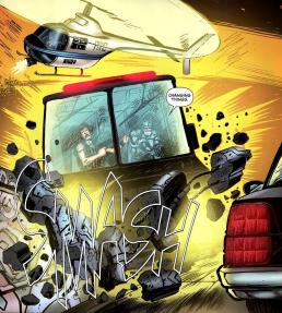 Terminator & RoboCop-Kill Human #3-Here He Comes!
