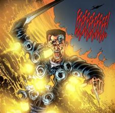Terminator & RoboCop-Kill Human #3-Liquid Metal Inferno!