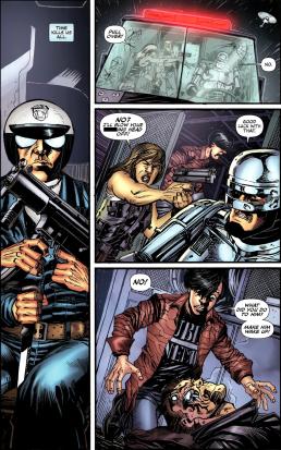 Terminator & RoboCop-Kill Human #3-Not So Familiar!
