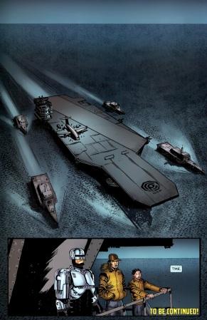 Terminator & RoboCop-Kill Human #3-Oceanic Safety!