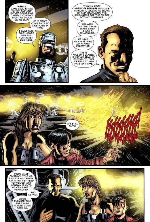 Terminator & RoboCop-Kill Human #3-Who I Am Before We Go!