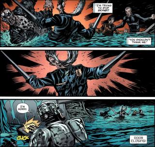 Terminator & RoboCop-Kill Human #4-A Major Sacifice!