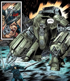 Terminator & RoboCop-Kill Human #4-Feel My Firepower!