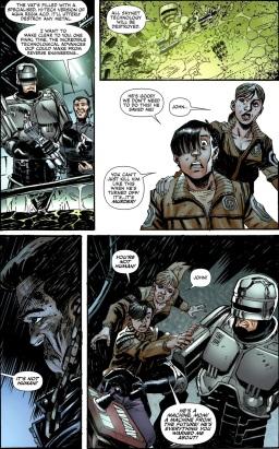 Terminator & RoboCop-Kill Human #4-Internal Disagreement!