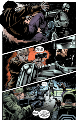 Terminator & RoboCop-Kill Human #4-Let's Not Lose Our Cool!