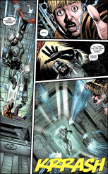 Terminator & RoboCop-Kill Human #4-Taking The Dangerously Fast Way Down!