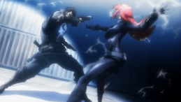 Black Widow & Punisher-The Duel!