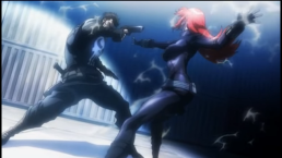 Black Widow & Punisher-The Duel!