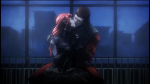 Black Widow-Redemption Kiss!
