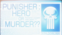 Punisher-Front Page News!
