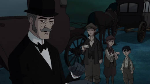 Alfred Pennyworth-I May Have Use For You Three!