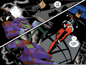 Harley Quinn & Batman #1-Down Goes The Joker!