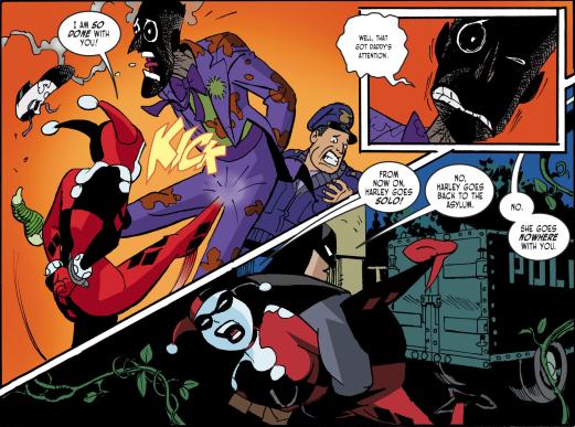 Harley Quinn & Batman #1-I'll Pop That Palooka!