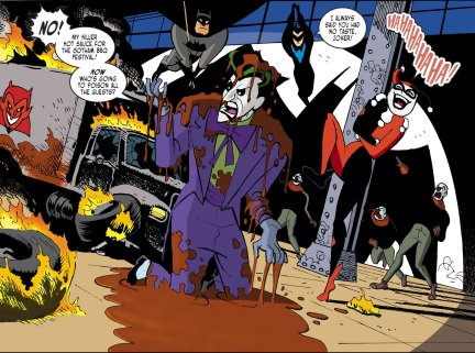Harley Quinn & Batman #1-Joker's Falling Apart!