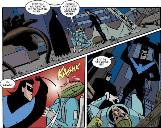 Harley Quinn & Batman #2-Condiment King Is Crushed!