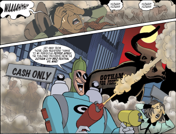 Harley Quinn & Batman #2-Condiment King Strikes!