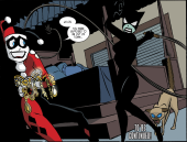 Harley Quinn & Batman #2-Feel The Cat's Claws!