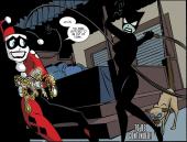 Harley Quinn & Batman #2-Feel The Cat's Claws!