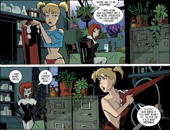 Harley Quinn & Batman #2-I'll Help Ya, Red!