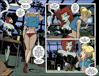 Harley Quinn & Batman #2-Morning, Red!
