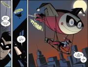 Harley Quinn & Batman #2-Quinn's Unorthodox Means Of Travel!