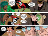 Harley Quinn & Batman #3-Anger Reaching Boiling Point!