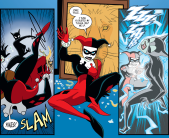Harley Quinn & Batman #3-Gotta Put This Kitty Down!