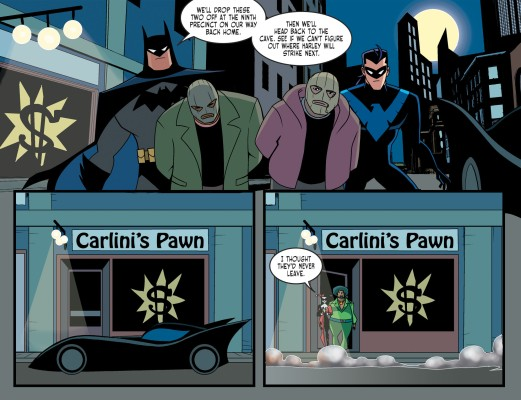 Harley Quinn & Batman #3-Hidden Transaction!