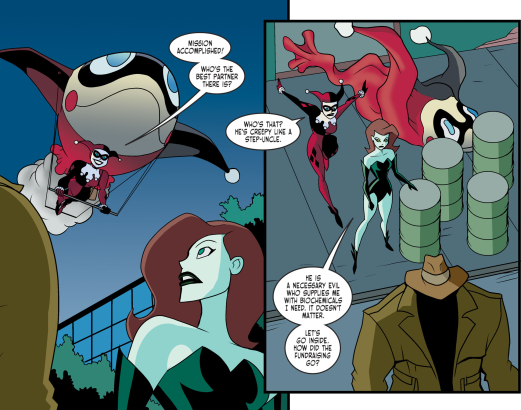 Harley Quinn & Batman #3-I'm Back, BFF!