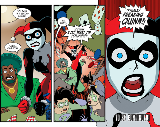 Harley Quinn & Batman #3-I'm No One's Second-Banana!