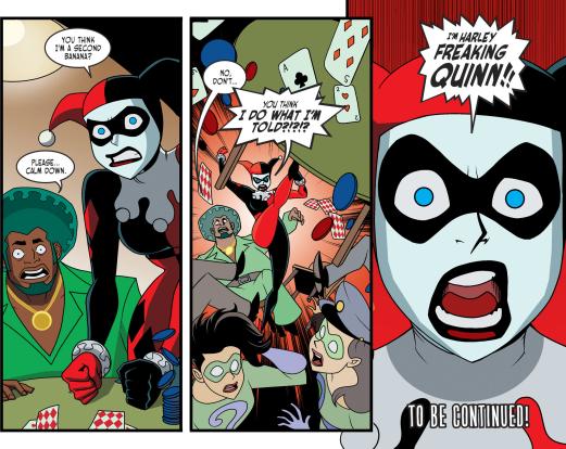 Harley Quinn & Batman #3-I'm No One's Second-Banana!