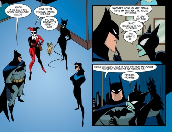 Harley Quinn & Batman #3-Situation Tamed!