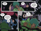 Harley Quinn & Batman #4-Eluding Interrogation!