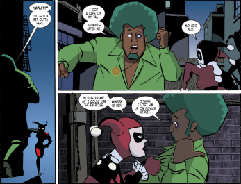 Harley Quinn & Batman #4-I'm Being Followed!