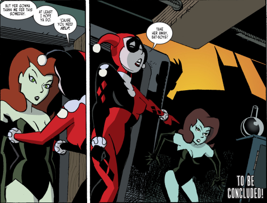 Harley Quinn & Batman #4-Turning On A Friend!