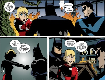 Harley Quinn & Batman #5-No More Running!
