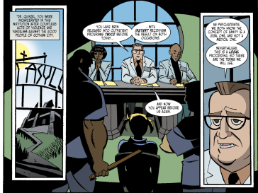 Harley Quinn & Batman #5-Psychiatry Parole!