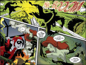 Harley Quinn & Batman #5-Pulverized Plants!