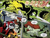 Harley Quinn & Batman #5-Pulverized Plants!