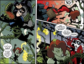 Harley Quinn & Batman #5-Two Fierce Struggles!