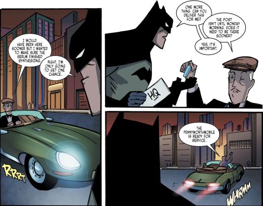 Batman & Harley Quinn #1-Alfred's Assist!