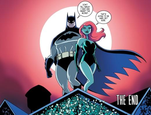 Batman & Harley Quinn #2-A Bright Tomorrow Awaits You, Pamela!