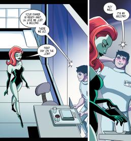 Batman & Harley Quinn #2-Dinner Time For Pamela!