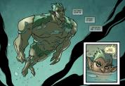 Batman & Harley Quinn #3-Swimming Towards Destiny!