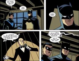 Batman & Harley Quinn #4-Servant's Singing Surprise!