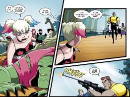 Batman & Harley Quinn #6-Foiled By Flagg!