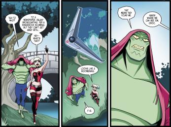 Batman & Harley Quinn #6-Spotted Again!