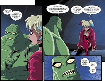 Batman & Harley Quinn #6-Unexpected Meeting!